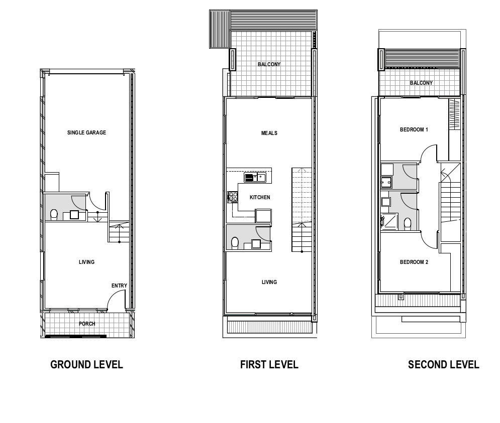 Floor plan south morang