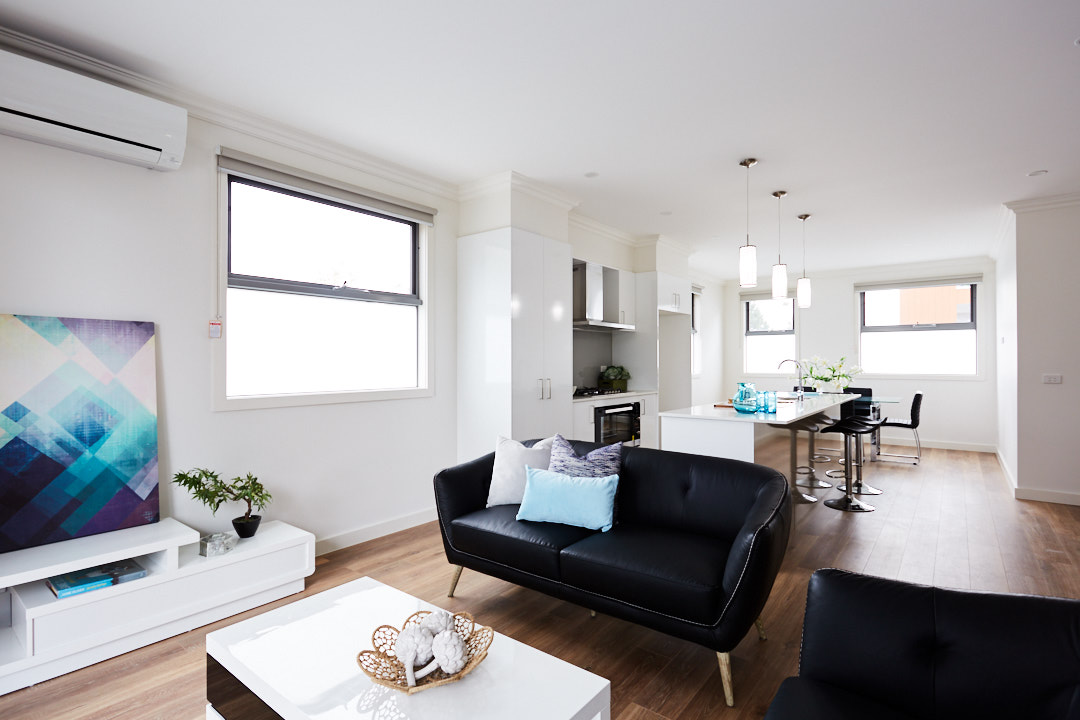 Living room of The One property by View Bank Homes in the post how to attract good tenants
