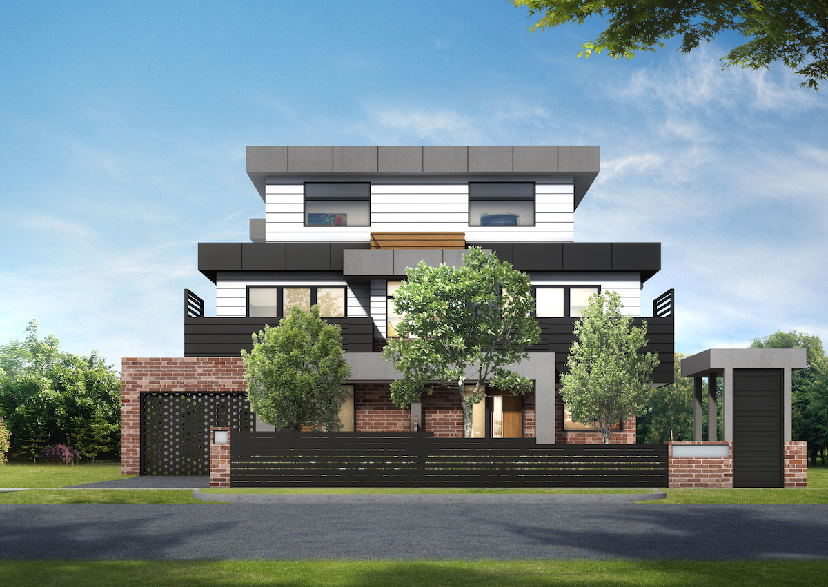 EIGHTY, 80 Jensen Road, Preston - View Bank Homes - new townhouse development