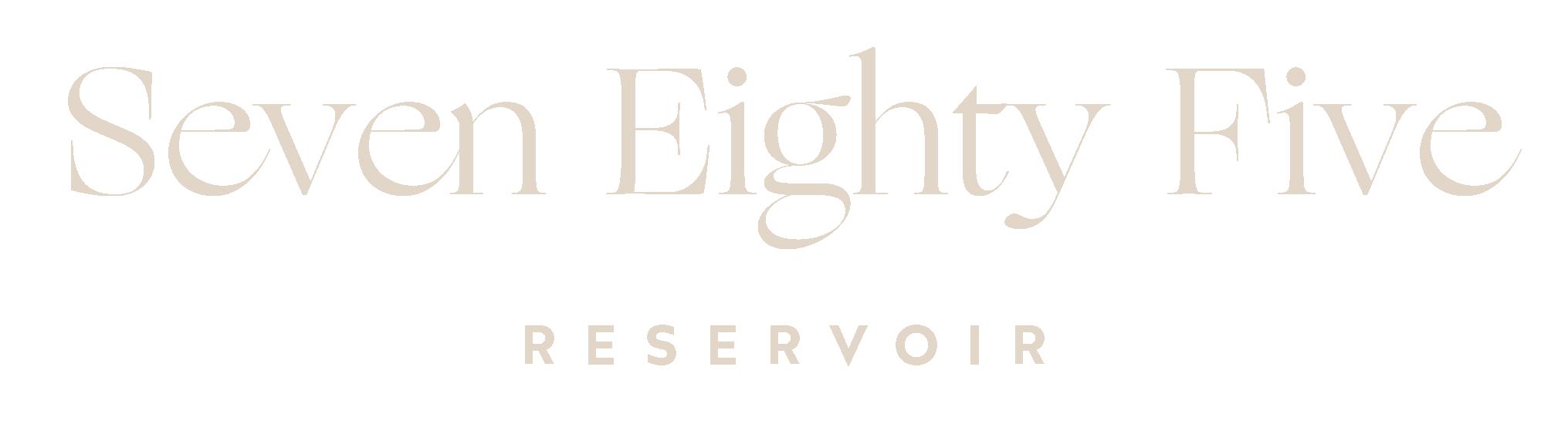 Seven Eighty Five Reservoir